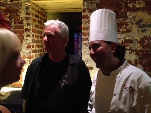 Chef Juan Carlos with Dale DeGroff